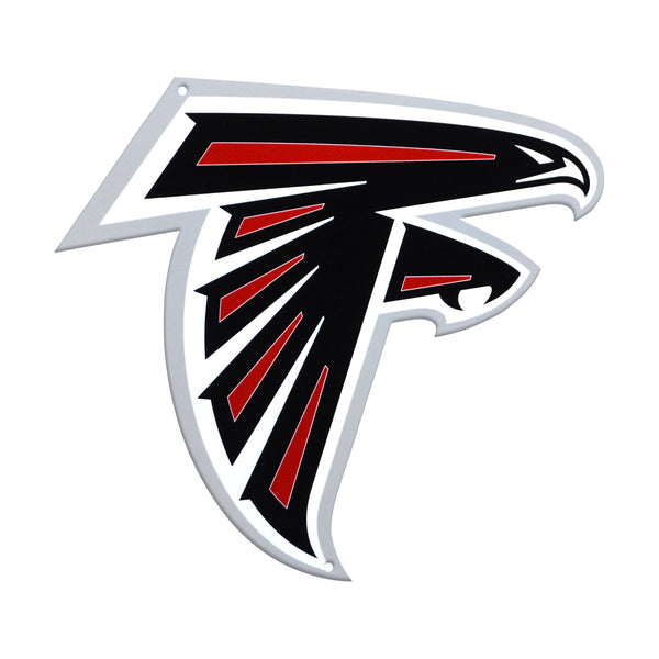 Atlanta Falcons Laser Cut Steel Logo Spirit Size-Primary Logo