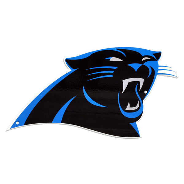 Carolina Panthers Laser Cut Steel Logo Spirit Size-Primary Logo