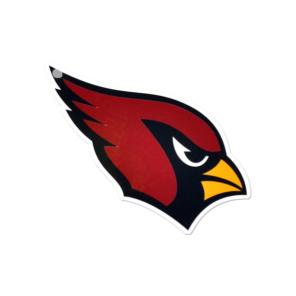 Arizona Cardinals Laser Cut Steel Logo Statement Size-Primary Logo