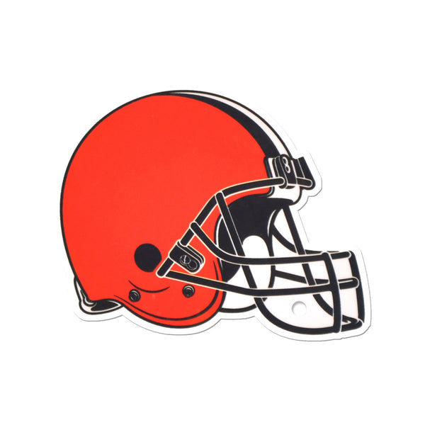 Cleveland Browns Laser Cut Steel Logo Statement Size-Primary Logo