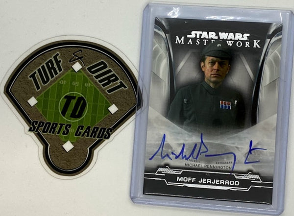 2020 Star Wars Masterwork Autographs #AMP Michael Pennington as MOFF JERJERROD