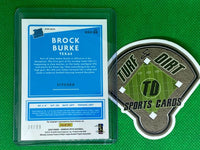2020 Donruss Optic Orange Prizm #RRS-BB Brock Burke RR RC #34/99