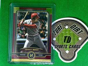 2019 Topps Museum Collection Ruby #27 Johnny Bench 50/50