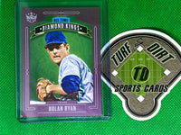 2020 Diamond Kings All-Time Diamond Kings Plum Frame #8 Nolan Ryan