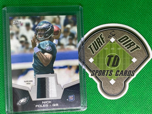 2012 Topps Rookie Patch #RPNF Nick Foles