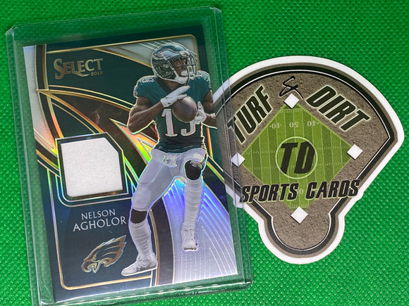 2019 Select Select Swatches Prizm #22 Nelson Agholor 92/99