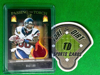 2020 Donruss Passing the Torch Andre Johnson/Will Fuller #6/199