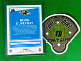 2020 Donruss Rated Rookies Canvas #329 Devin Duvernay