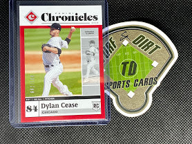 2020 Panini Chronicles Red #37 Dylan Cease #82/100