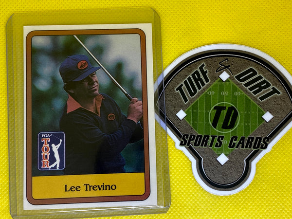 1981 Donruss #2 LEE TREVINO RC