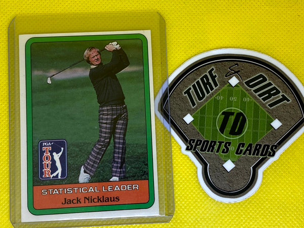 1981 Donruss #NNO JACK NICKLAUS SL RC