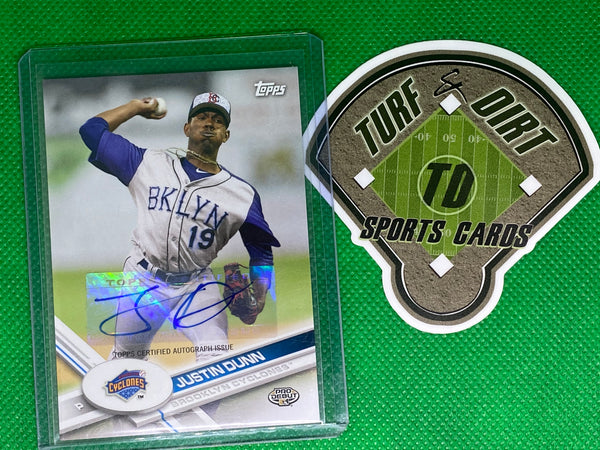 2017 Topps Pro Debut Autographs #175 Justin Dunn