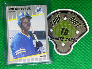 1989 Fleer #548 Ken Griffey Jr. RC