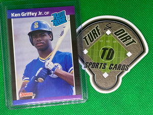 1989 Donruss #33 Ken Griffey Jr. RR RC