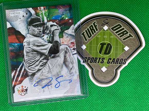 2019 Diamond Kings DK Signatures #28 Justus Sheffield