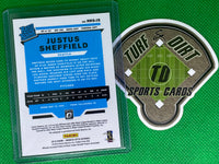 2019 Donruss Optic Rated Rookies Signatures #25 Justus Sheffield