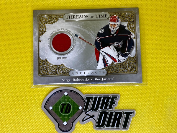2020-21 Artifacts Threads of Time #TTSB SERGEI BOBROVSKY