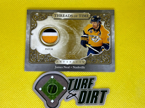 2020-21 Artifacts Threads of Time Premium #TTJN JAMES NEAL #5/25