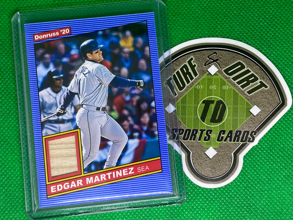 2020 Donruss Retro '86 Materials #12 Edgar Martinez GAME USED