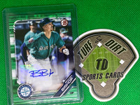 2019 Bowman Prospect Autographs Green #PABB Braden Bishop 79/99