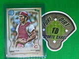 2020 Topps Gypsy Queen Missing Nameplate #309 Johnny Bench SP