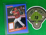 2020 Donruss Retro '86 Materials #11 Albert Pujols GAME USED