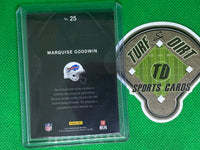 2013 Panini Black Onyx Rookie Materials Prime Signatures #25 Marquise Goodwin 19/99