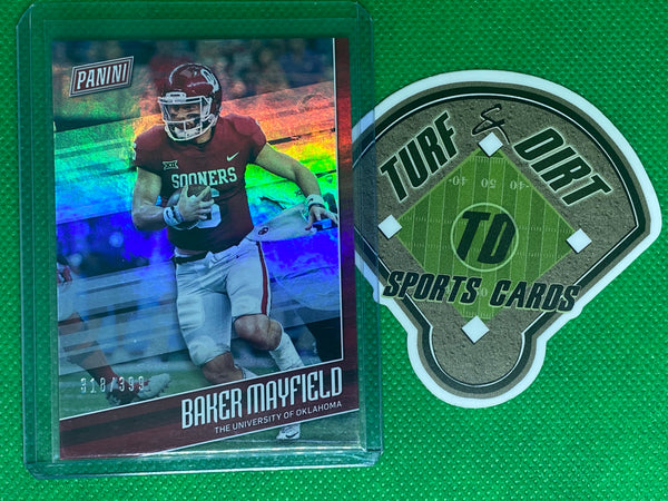 2018 Panini Father's Day Football Prospects #FB1 Baker Mayfield 318/399