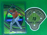 2020 Select Neon Green #172 Victor Robles PRM 39/99