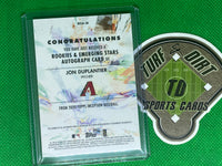 2020 Topps Inception Rookie and Emerging Stars Autographs Magenta #RESAJD Jon Duplantier 33/99