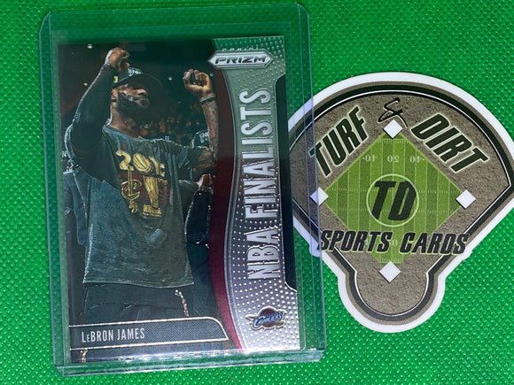 2019-20 Panini Prizm NBA Finalists #3 LeBron James