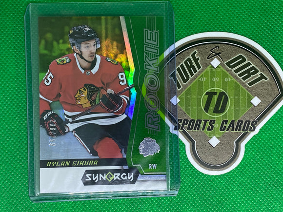 2018-19 Synergy Green #69 Dylan Sikura 236/299