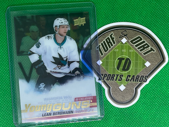 2019-20 Upper Deck Clear Cut #245 Lean Bergmann YG