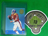 1996 Playoff Trophy Contenders Mini Back-To-Backs #42 J.Elway/A.Miller