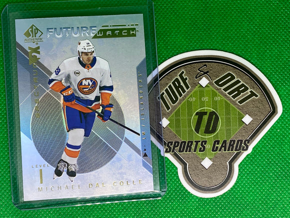 2018-19 SP Authentic Spectrum FX #S60 Michael Dal Colle FW