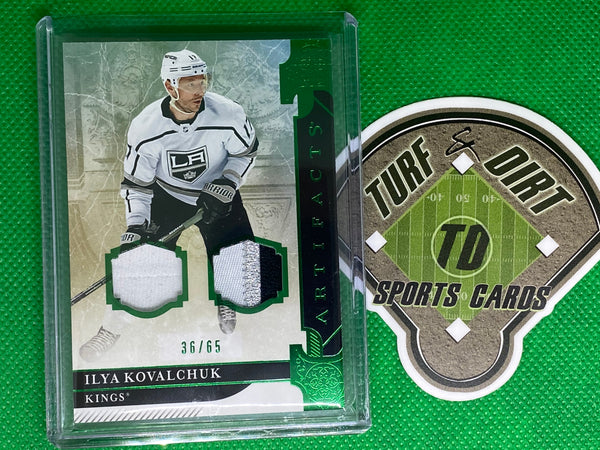 2019-20 Artifacts Materials Emerald #26 Ilya Kovalchuk 36/65