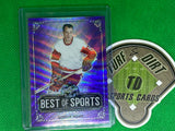 2019 Leaf Best of Sports Wave Purple #MGH1 Gordie Howe 2/15