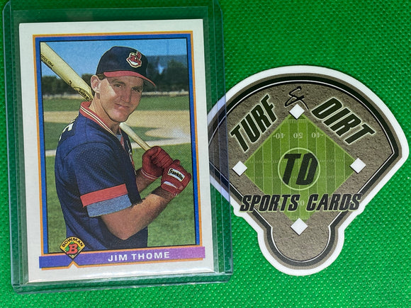1991 Bowman #68 Jim Thome RC