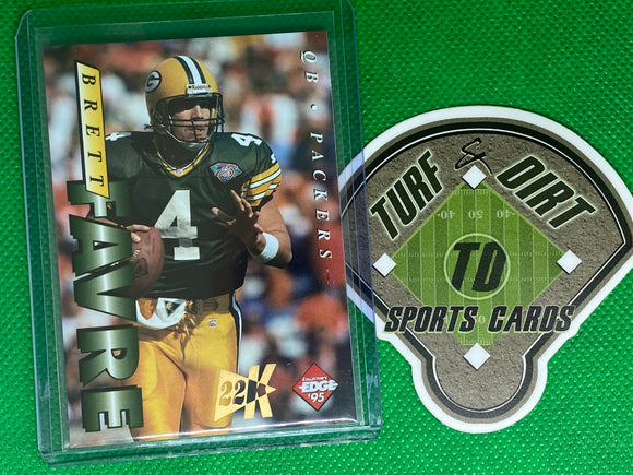 1995 Collector's Edge 22K Gold #71 Brett Favre