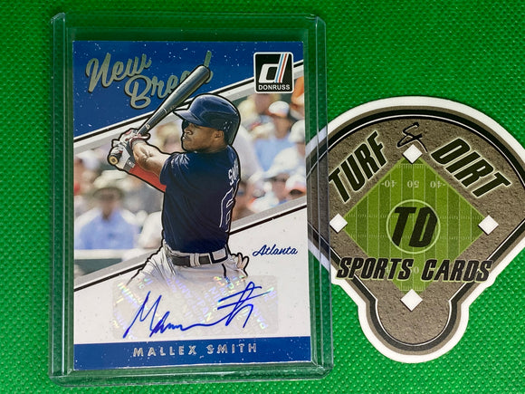 2017 Donruss New Breed Autographs #NBMS Mallex Smith