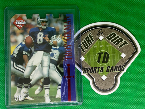 1995 Excalibur Die Cuts #18 Troy Aikman