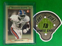 1990 Action Packed Rookie Update #46 Shannon Sharpe RC