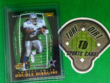 1996 Pinnacle Double Disguise #16 B.Favre/E.Smith