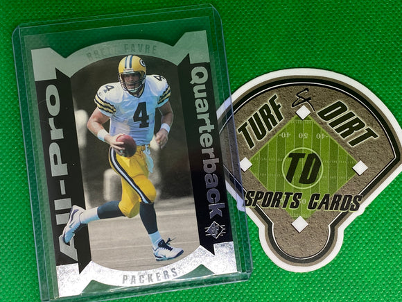 1995 SP All-Pros #4 Brett Favre