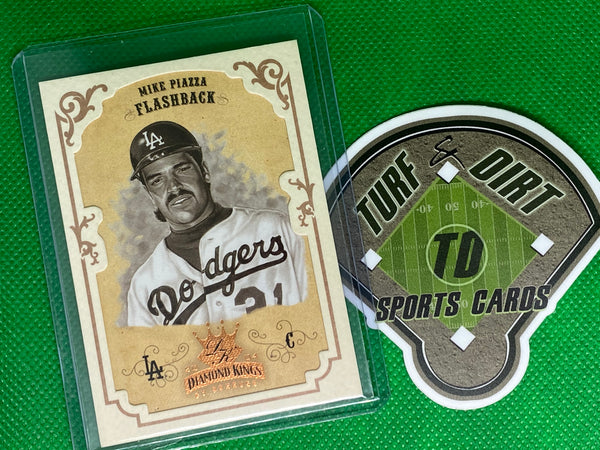 2004 Diamond Kings Framed Bronze Sepia #157 Mike Piazza FB