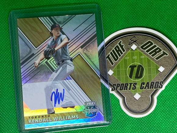 2019 Elite Extra Edition Autographs #52 Kendall Williams