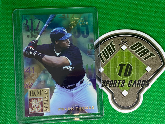 1994 Flair Hot Numbers #10 Frank Thomas