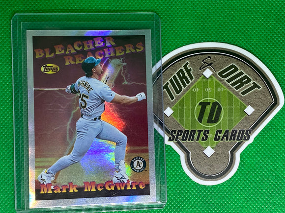 1997 Topps Season's Best #SB6 Mark McGwire