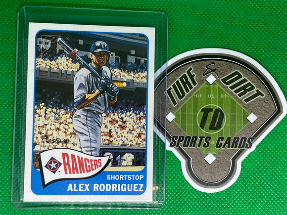 2001 Topps Gallery Heritage #GH7 Alex Rodriguez