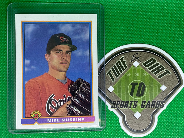 1991 Bowman #97 Mike Mussina RC